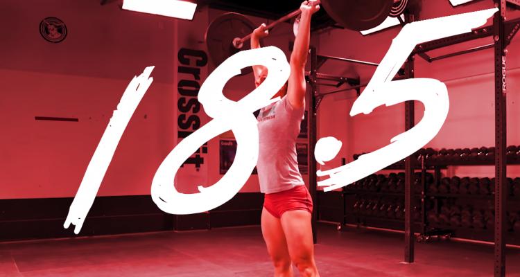 ejercicios del 18.5 de CrossFit