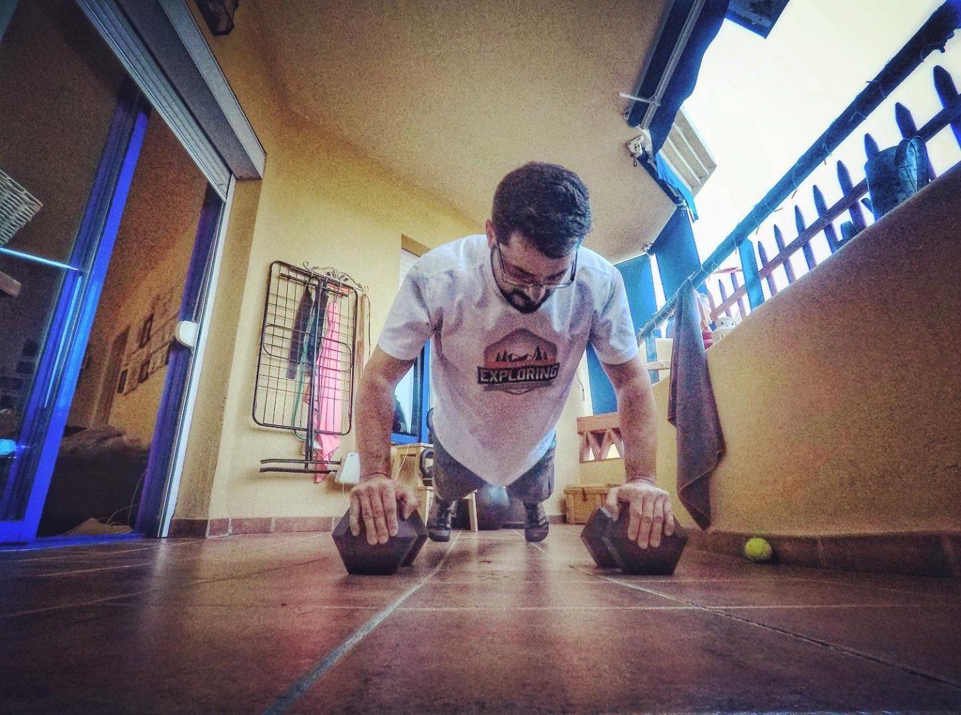 entrenar en casa crossfit