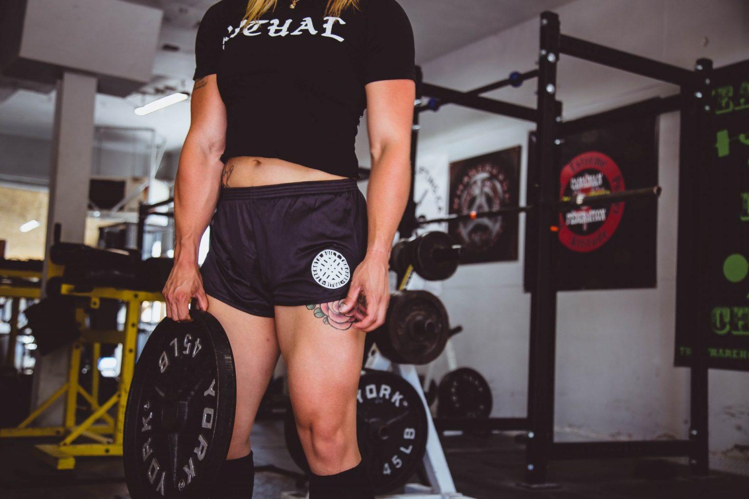 entrenar como una mujer