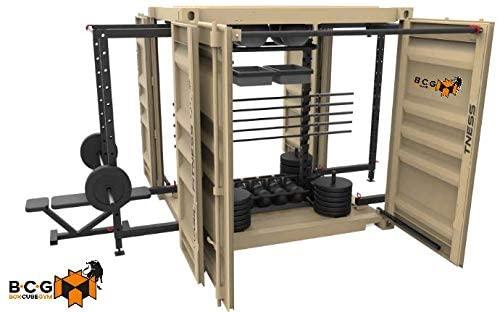 gimnasio en casa - Box Cube Gym