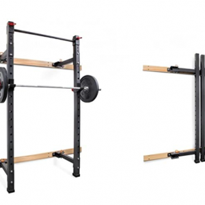 Rack de crossfit pared