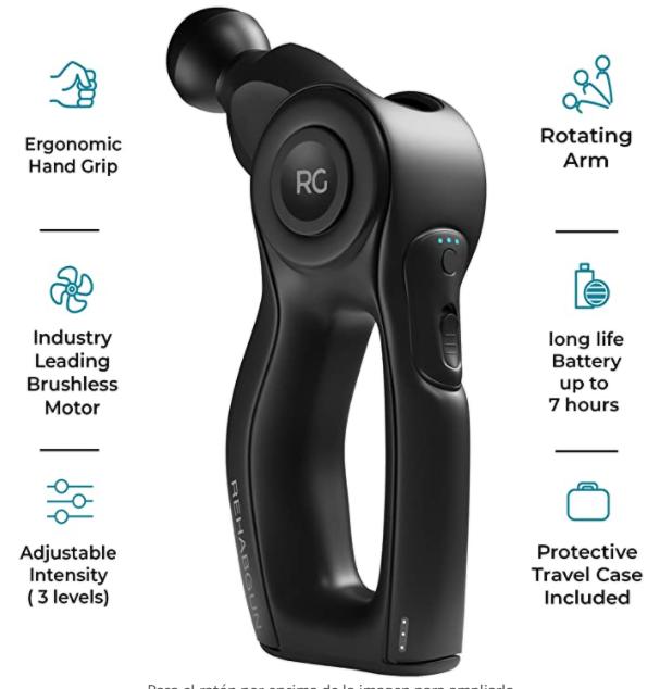 pistola de masaje de 300 euros - Las 5 mejores pistolas de masaje para regalar a un Crossfiter